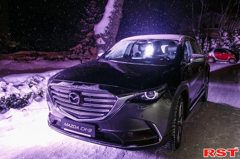 Mazda официально представила CX-3 и CX-9 в Украине