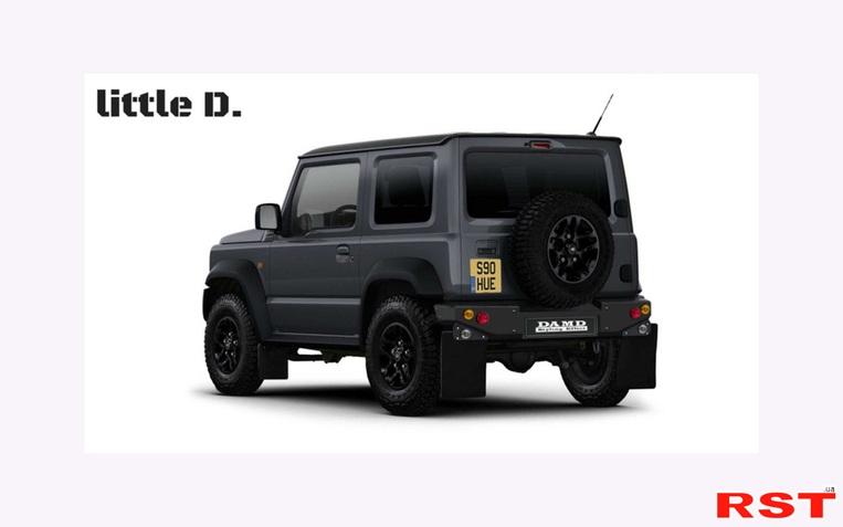 фото В Damd готовы превратить Suzuki Jimny в G-Class или Defender