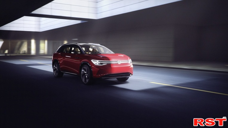 Volkswagen презентовал новый электрокроссовер I.D. Roomzz
