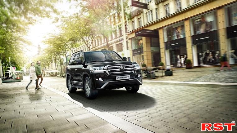 Toyota Land Cruiser 200 предлагается украинским покупателям в новой комплектации Executive Lounge