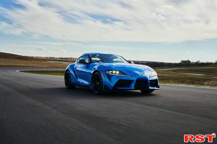 Toyota обновила GR Supra