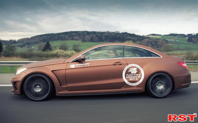 Мастера Prior Design взяли за основу своего проекта PD850 Black Edition немецкое купе Mercedes-Benz E-Class Coupe и...