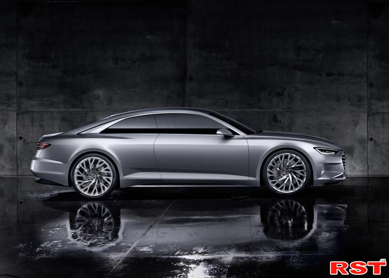 Audi рассекретила концепт Prologue Coupe